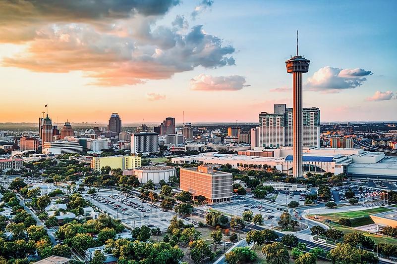 San Antonio Texas downtown skyline