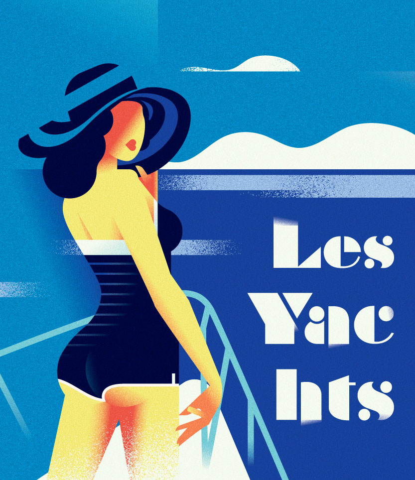 Poster Les-Yachts