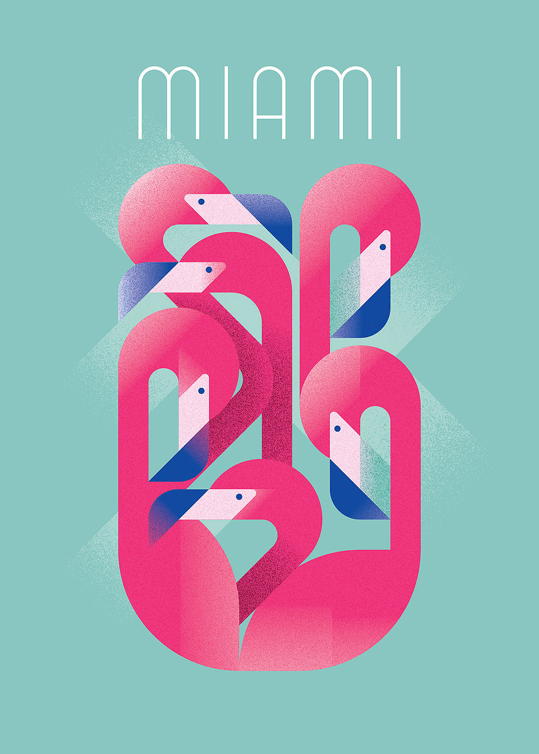 Flamingos of Miami