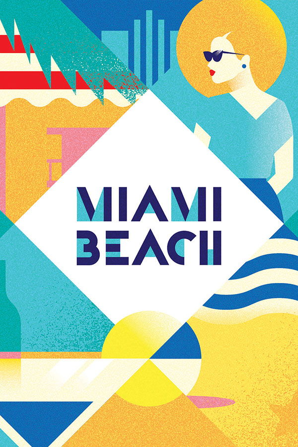 Miami Beach | poastcard