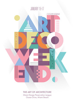 ArtDeco Weekend | Poster