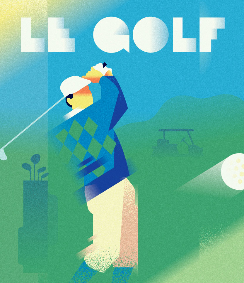 Poster LE-GOLF