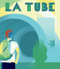 Poster La-tube