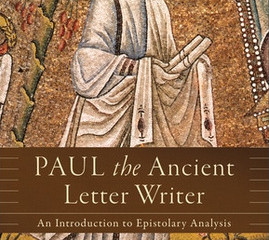 Book on 1st Century letter writing and Paul