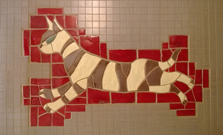 Mozaika Kot