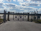 Wilmington, NC Industrial Security Gate Entrance