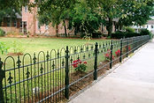 Ornamental iron fence Wilmington NC