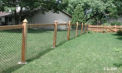 Dog enclosure Wilmington, NC Chain Link Fence
