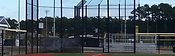 Wilmington, NC Baseball Park Chain Link Batting Cage