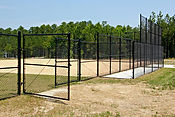 Cape Fear, NC-Baseball Park Entry Gate