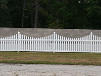 vinyl picket fence Wilmington, NC