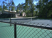 Wilmington, NC-HOA Tennis court fence