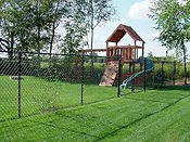 Cape Fear Playground custom fence
