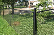 Steel chain link fence-Wilmington, NC