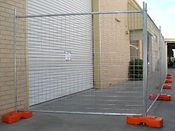 Temporary Aluminum Construction Fence Wilmington-North Carolina