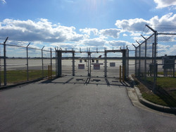 Security Fence Airport Wilmington NC