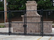 Monument Security Wilmington, NC  Chain Link Fence