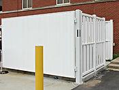 Vinyl dumpster fence wilmington nc
