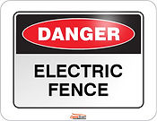 Wilmington, North Carolina-Danger electrical fence North Carolina