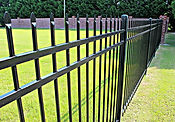 spiked aluminum fence Wilmington NC