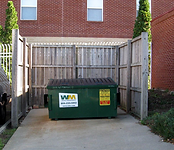 dumpster fencing Wilmington nc