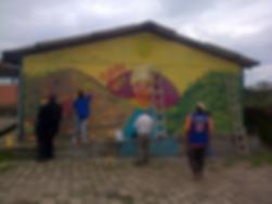 Nina Shunku, Murals, San Carlos, Quito