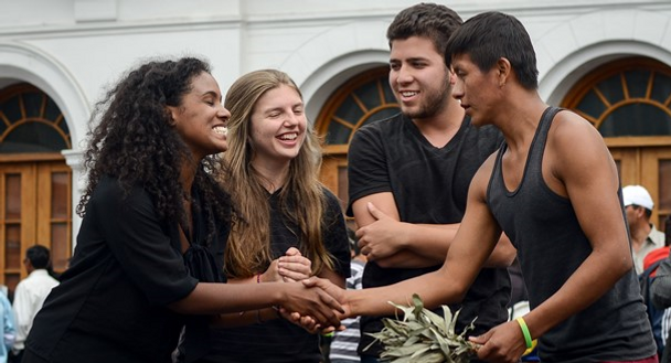 Rehearsing Change, Pioneers, study abroad, ecuador, community-based, fair trade