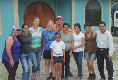 host family, short-term program, study abroad, Ecuador, Amazon