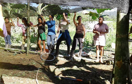 Pachaysana works with UDAPT, justice from Chevron, community, participation, A'I, Cofán, Siona, Siekopai