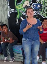 community members, artists, educators, development specialists, community organizers