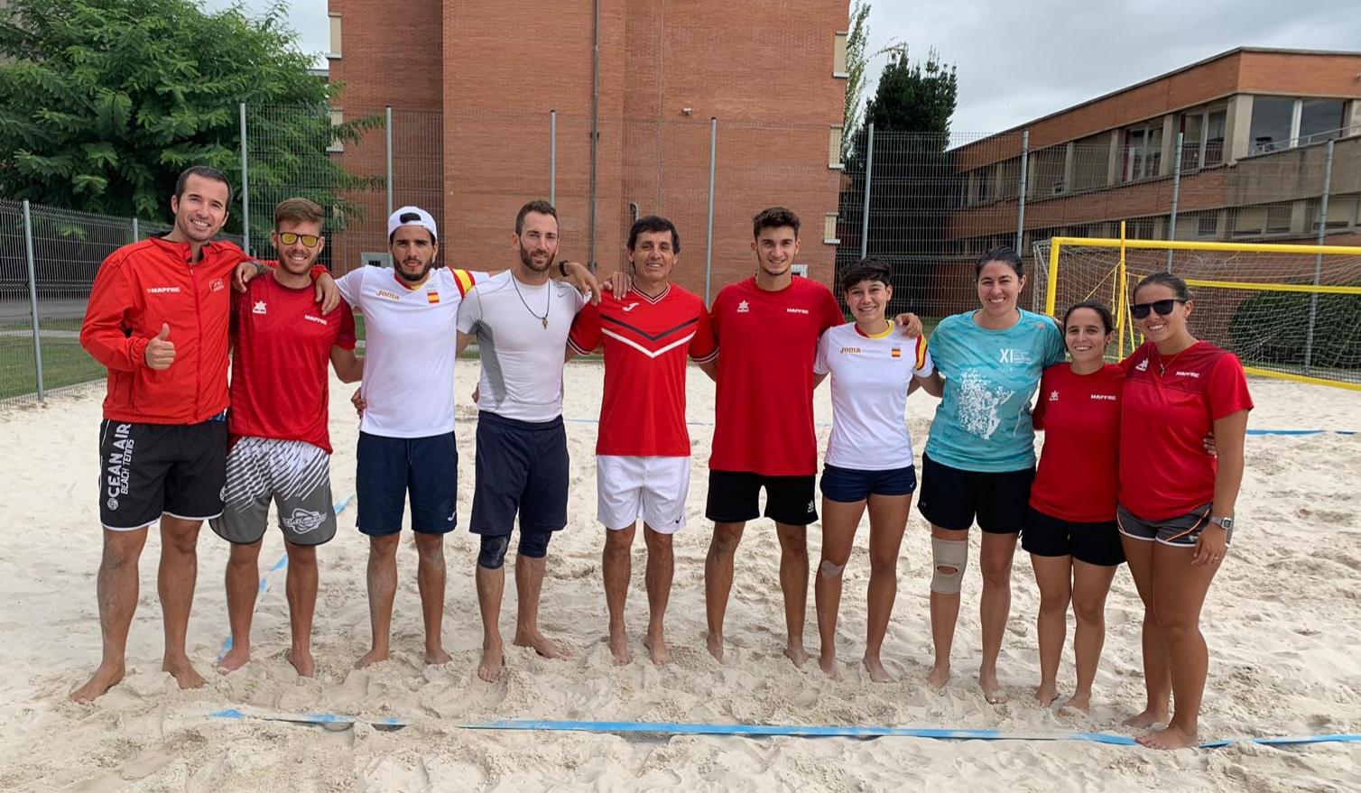 Selección Española de Tenis Playa (2019)