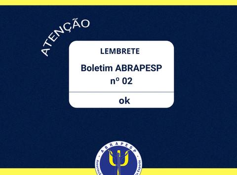 Boletim Informativo ABRAPESP 2020 Nº2
