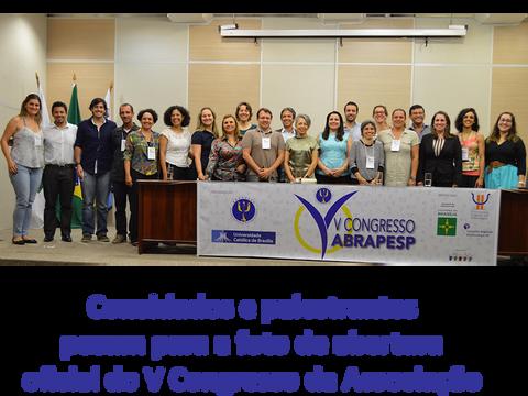 Começa o V Congresso da ABRAPESP