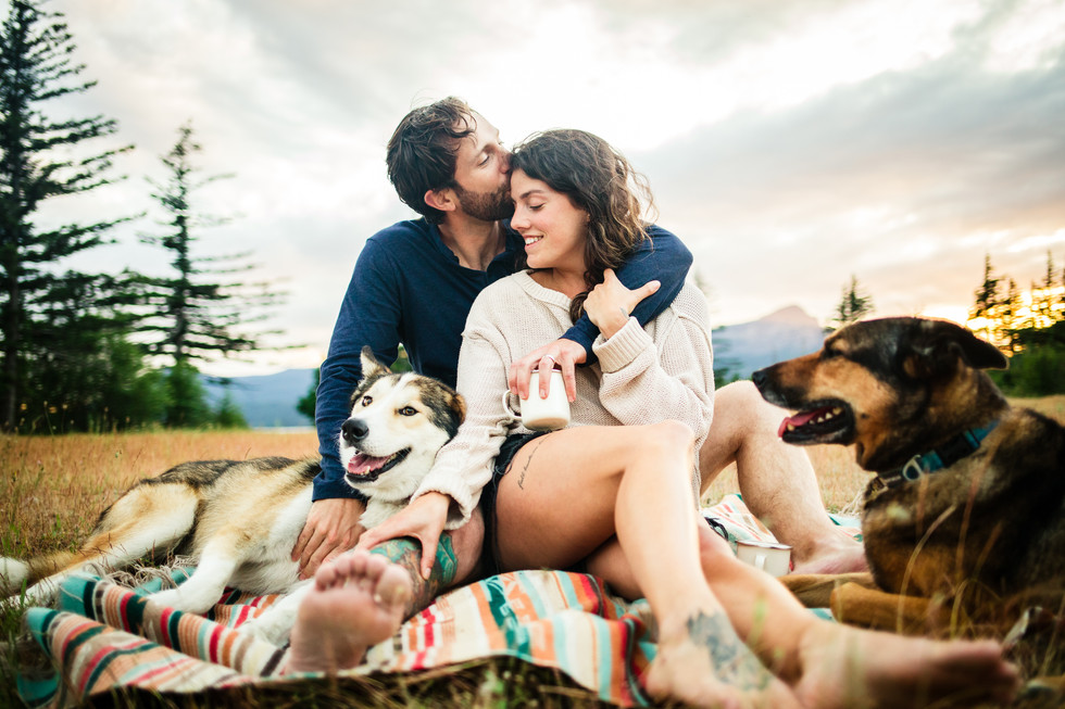 Columbia Gorge Engagement Session