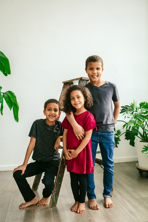 Studio Family Shoot at The LightRoom PDX
