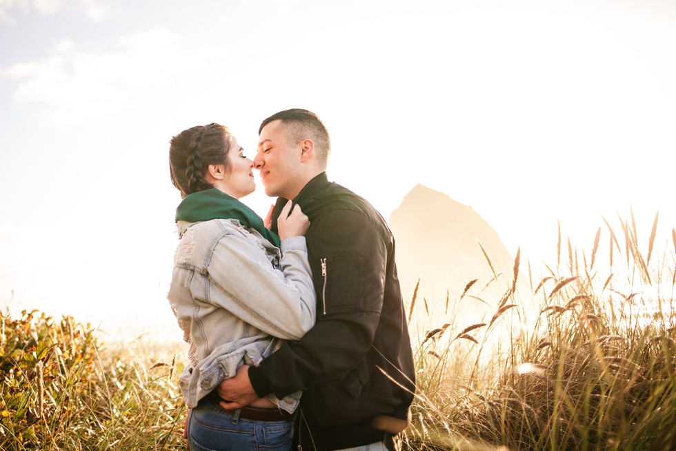 Cannon Beach Engagement Session