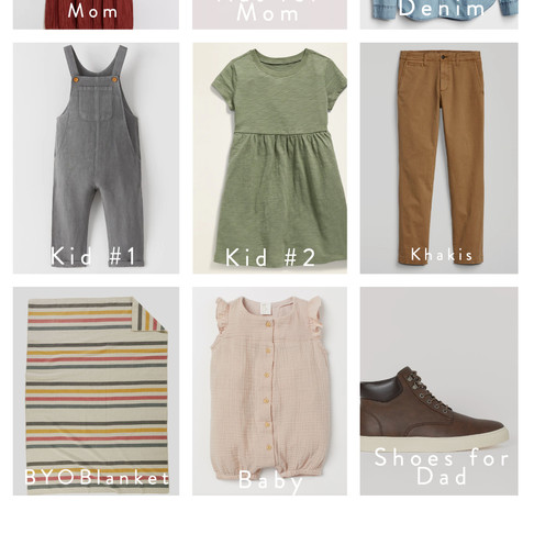 Fashion Friday: Wardrobe Ideas for Your Summer Family Session
