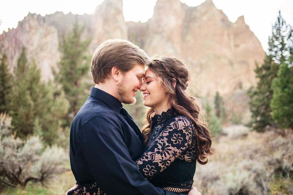 Smith Rock Engagement Session