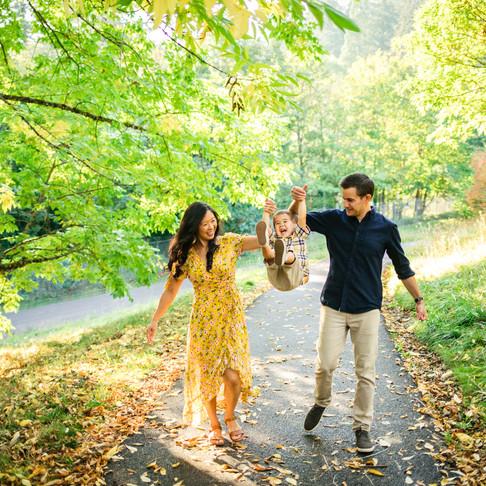 Fall Family Session: Hoyt Arboretum