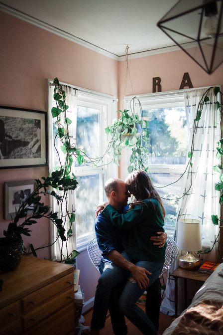 In-home Couples Session