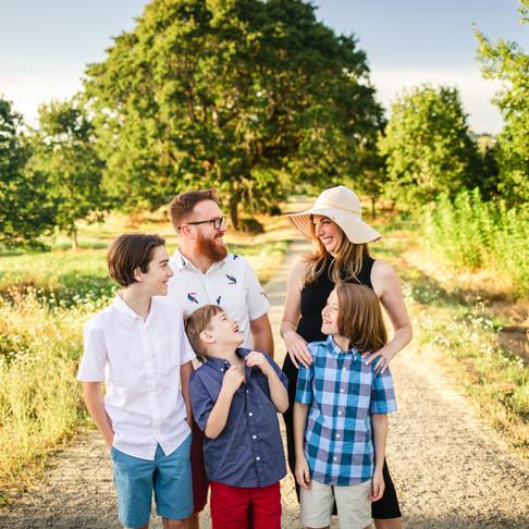 Outdoor Lifestyle Family Session: Tualatin River National Wildlife Refuge