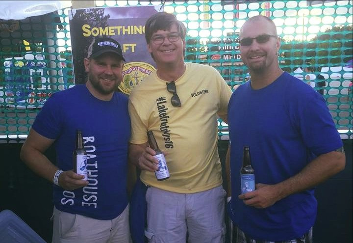 State Rep Eric Pratt helped us pour out a few tasters for atendees
