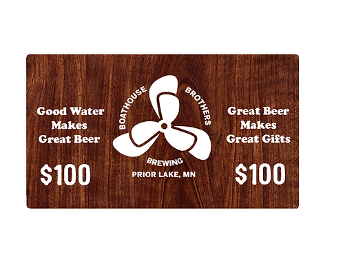 $100 Taproom Giftcard