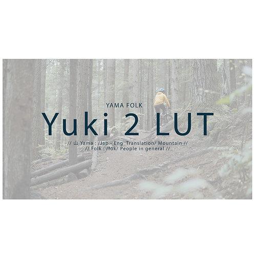 Yuki Video LUT Package