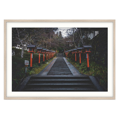 Mountain Temple Stairway