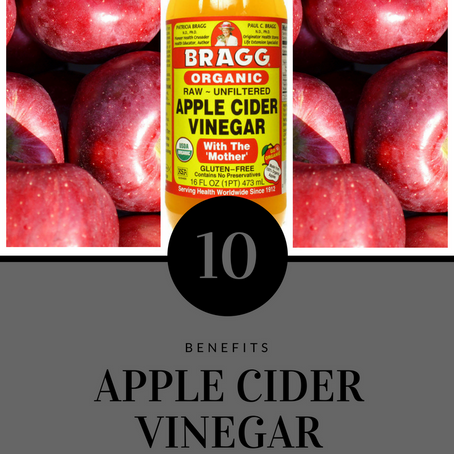 "APPLE CIDER VINEGAR (""The Mother"") 10 Benefits"
