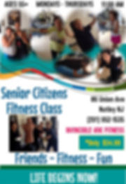 Senior Citizens Fitness Classes in Nutley NJ