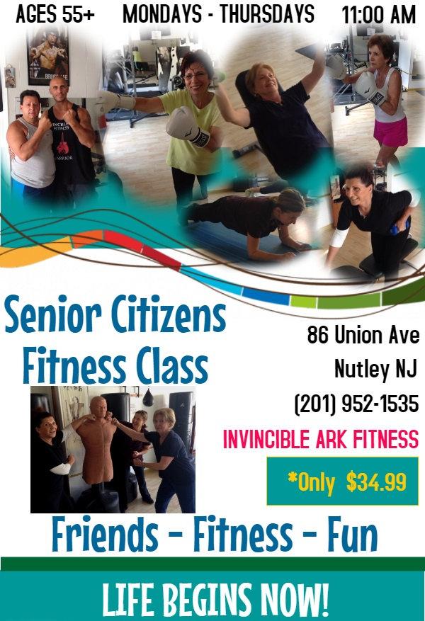 Senior Citizens Fitness Classes in Nutley NJ
