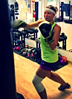 Anastasia Invincible Ark Kickboxing