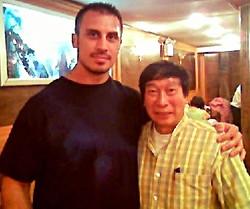 Master Chiu Chi Ling and Denis Ark
